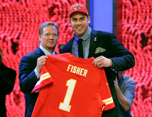 Eric Fisher, Roger Goodell 114